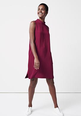 Feminine Pink Dress