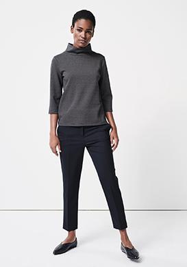 Elegant Stand-up collar