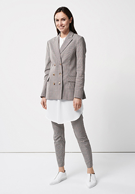 Checked Business Look