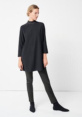 Beautiful Black Longblouse