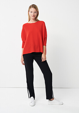 Cosy Red Cashmere