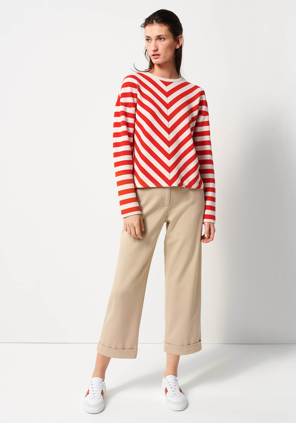 Red Stripe Look