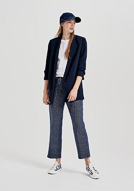 Blue Denim Suiting