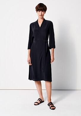 Feminine Wrap Dress