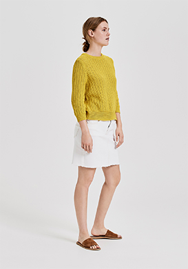 Yellow Meets Knits