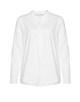 Stehkragenbluse Fleming white