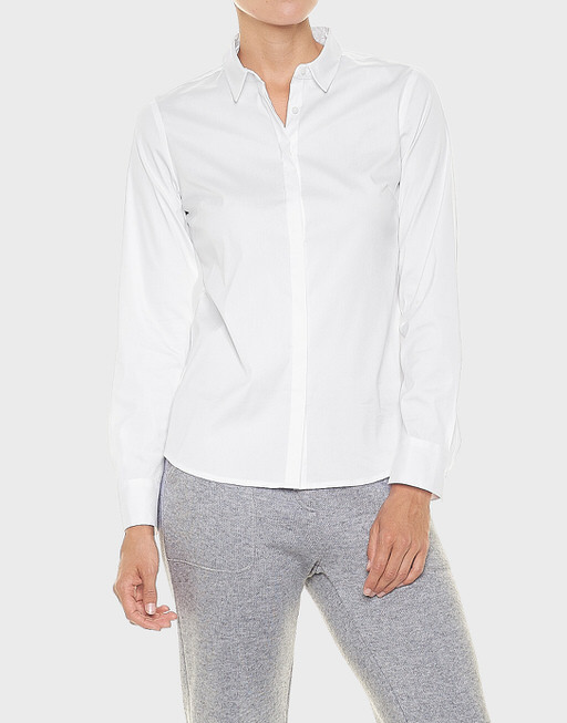 Overhemdblouse Felicita white