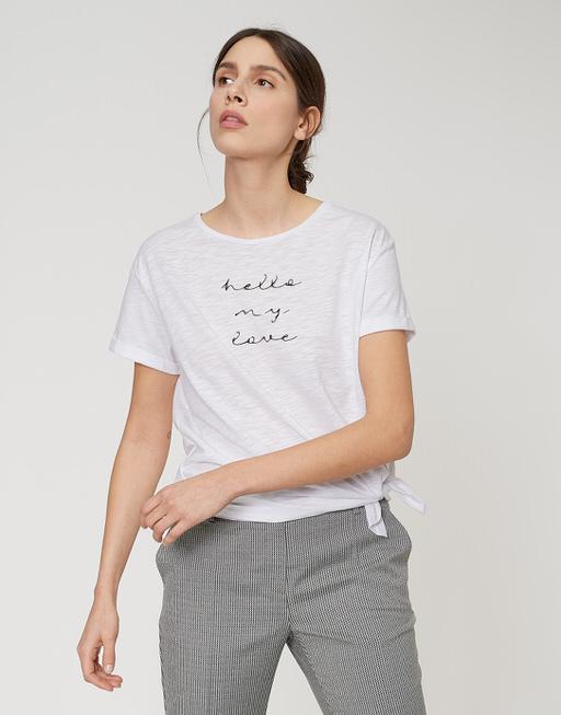 Shirt met print Sakosta print white