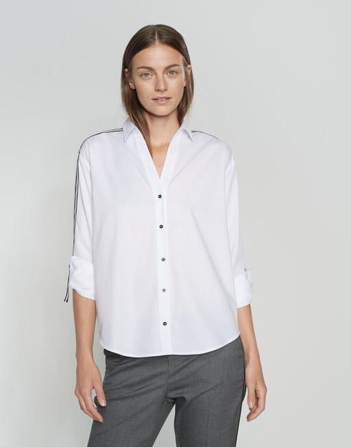 Hemdbluse Fuline white