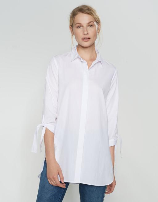 Overhemdblouse Fiani white