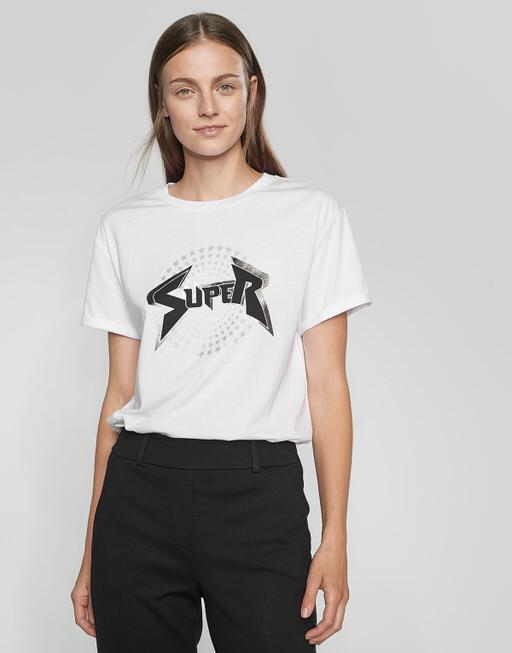 Shirt met print Stari print white