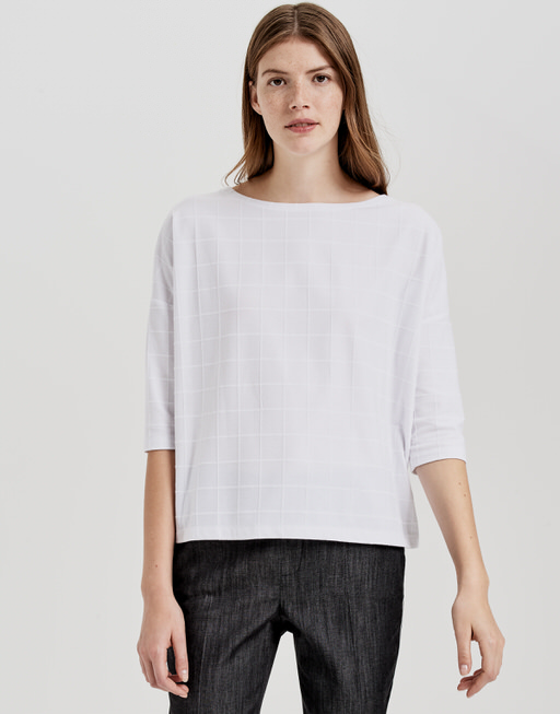 Boxy Shirt Saro white