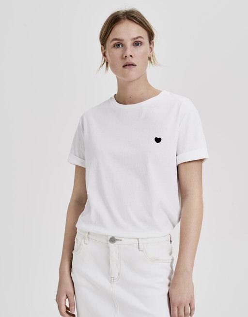 Shirt met print Serz white