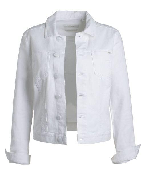 check out b393c 67952 Spijkerjasje Hettie wit online bestellen | OPUS online shop