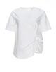 Shirtbluse Floraine white