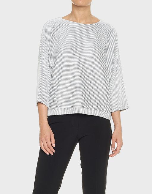 Oversize-Shirt Gemila weiß online bestellen | OPUS Online Shop