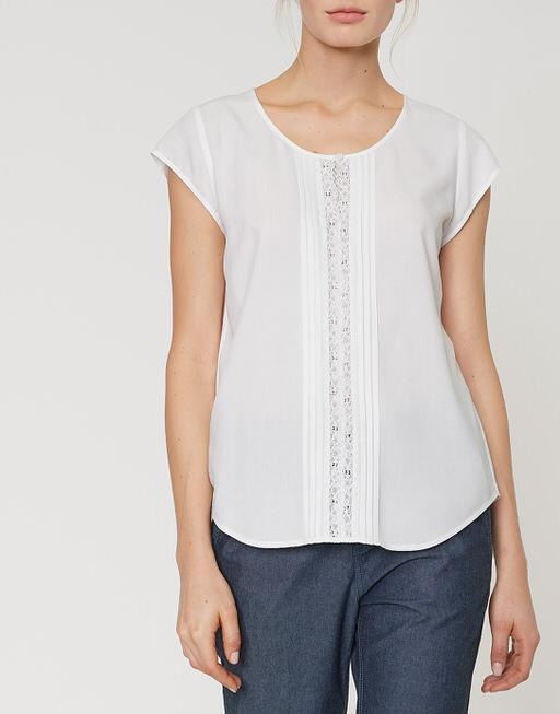 Shirt blouse Fantin milk