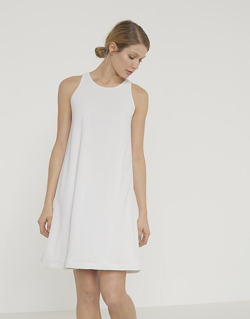 Sommerkleid Weria ST weiß online bestellen | OPUS Online Shop