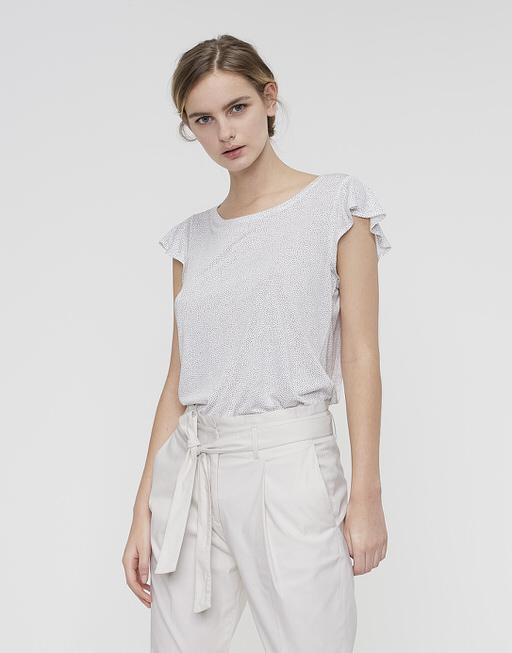 Shirt with print Solliana dot milk