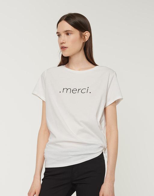 Motiv Shirt Serci print milk