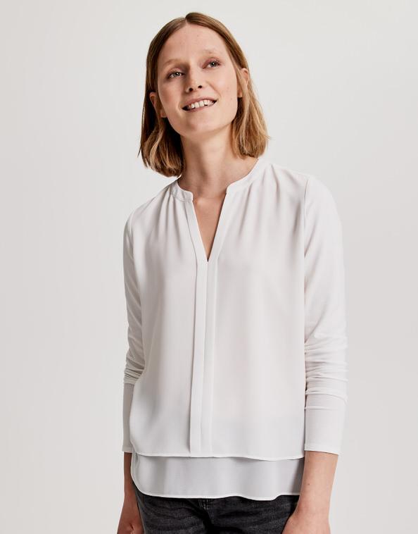 100% hohe Qualität außergewöhnliche Auswahl an Stilen großer Rabatt Blouse Fogat white by OPUS | shop your favourites online