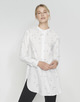Lange blouse Fubin star milk