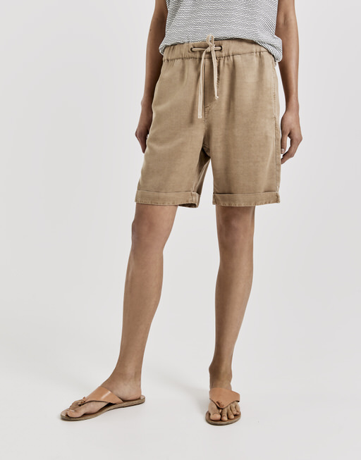 Stoffshorts Marly natural sand