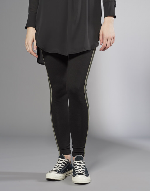 Leggings Elime shiny pea