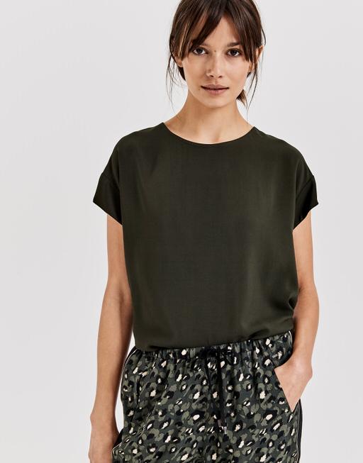 Oversized shirt Skita oliv green