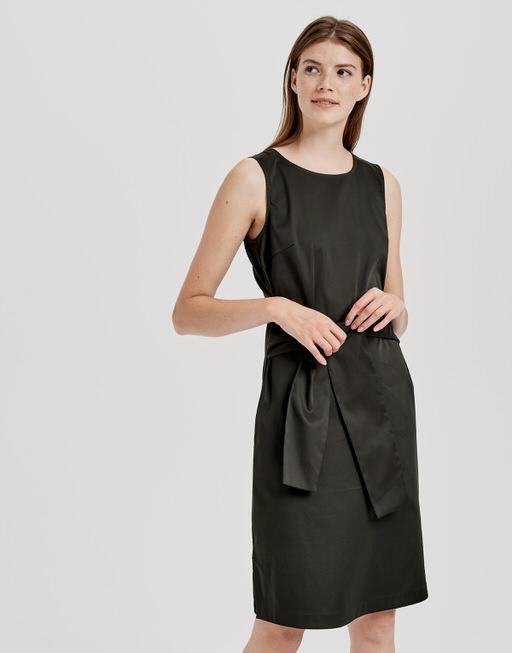 Kleid Welia solid oliv green