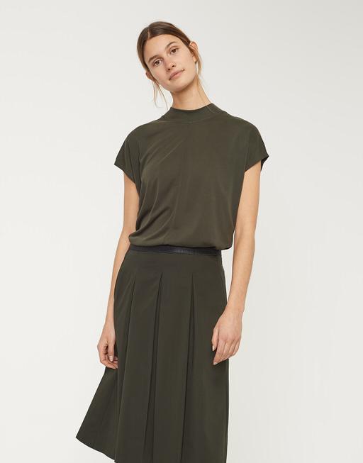 Shirt Sidelia oliv green
