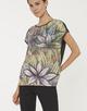 Shirt met print Sarinda print oliv green