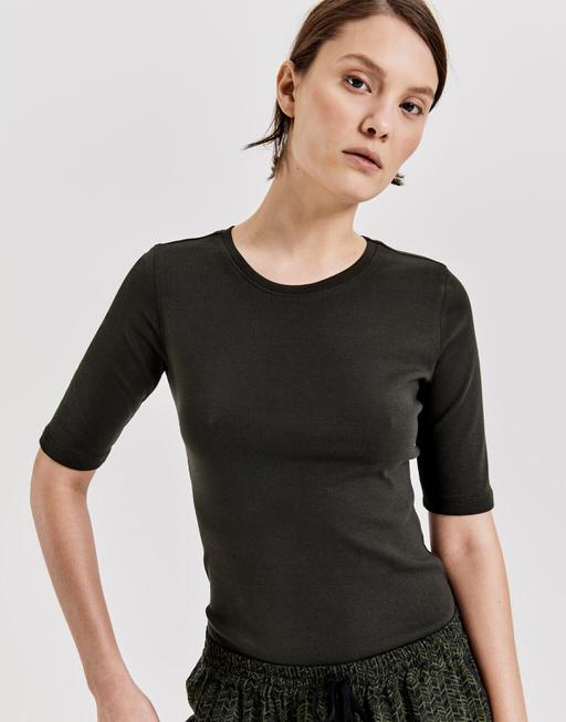 T-shirt daily B oliv green