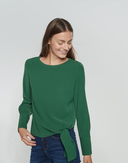 Shirtblouse Flota greenery