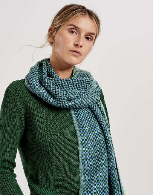 Schal Acoco scarf greenery