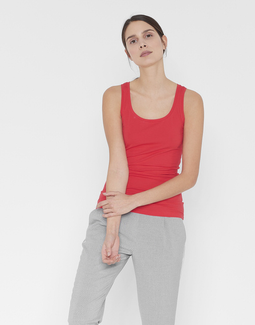 Tanktop Imilia poppy red