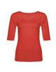 Basicshirt Sanika poppy red