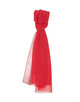 Schal Apliti scarf poppy red