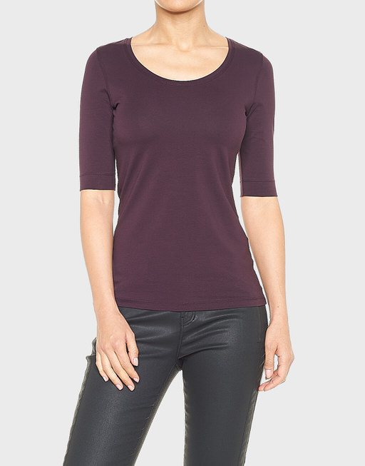 Basicshirt Sanika dried berry