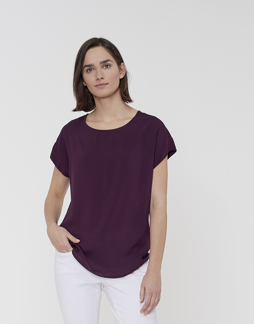 Oversized shirt Skita dried berry