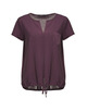 Shirtbluse Faleria dried berry
