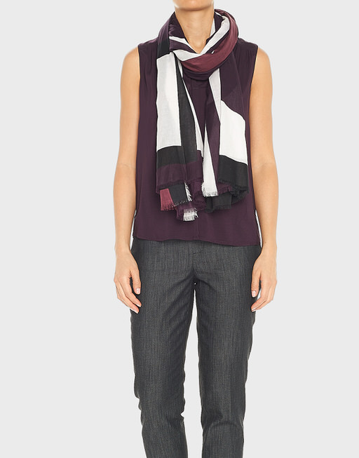 Sommertuch Atami scarf dried berry