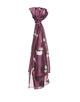 Schal Anika scarf dried berry