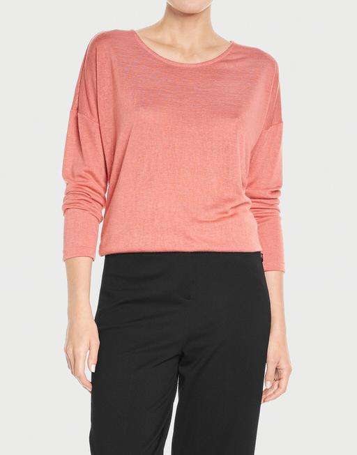 Oversize Shirt Seconda blossom red