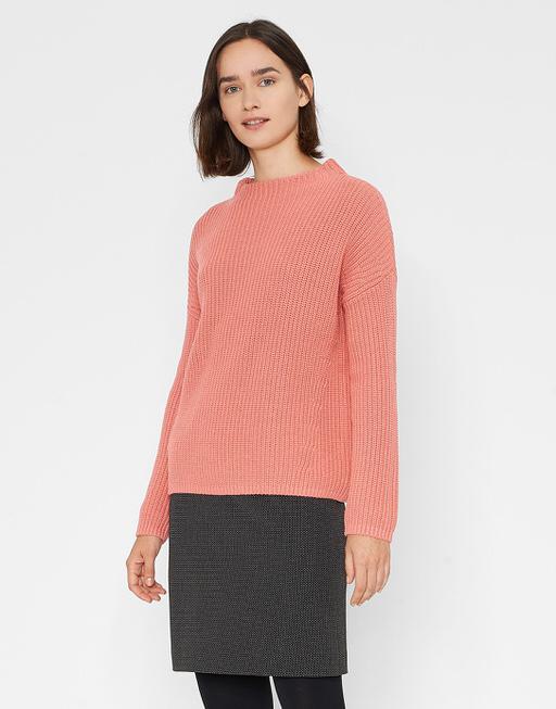 Baumwoll Pullover Parto blossom red