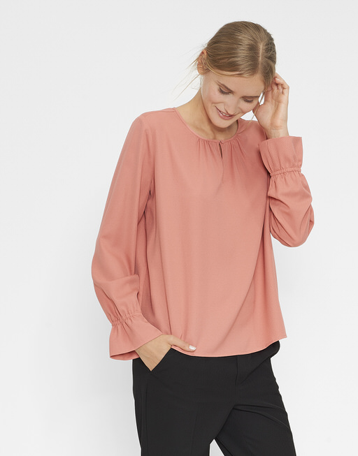 Bluse Feeh blossom red