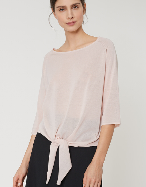 Pullover Pobini shade of rose