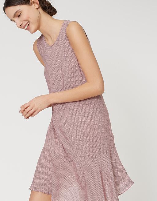 Sommerkleid Wenola velvet pink