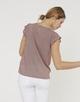 Shirtbluse Fannie velvet pink