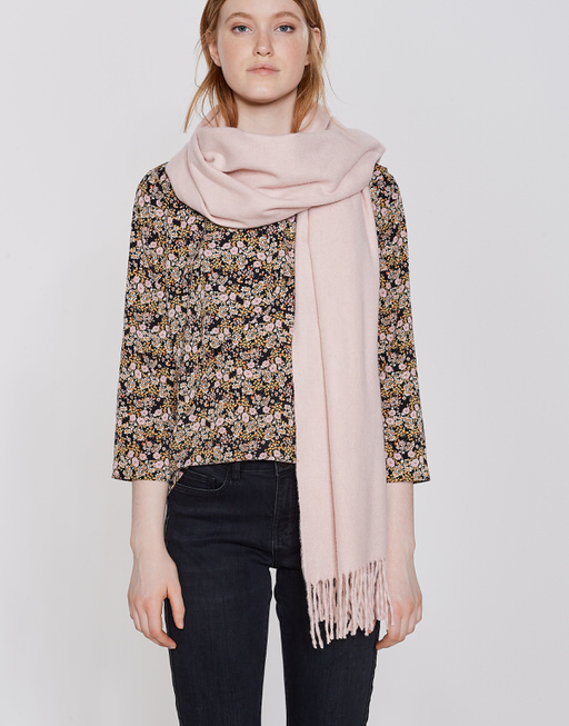 Oversized sjaal Anell scarf blush melange